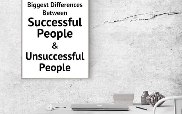 differences-between-successful-and-unsuccessful-people